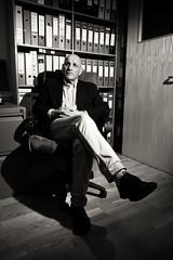 Richard-2 (Brockley Tim) Tags: boss portrait work leaving office change retirement generalsecretary projectceo