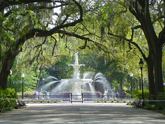 Forsyth Park, Savannah, Georgia (J. Stephen Conn) Tags: ga georgia savannah chathamcounty forsythpark chathamcountytain