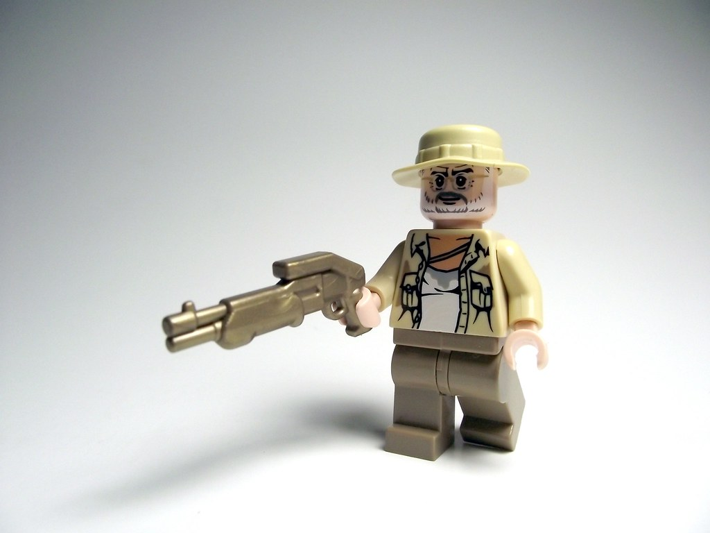 Walking dead lego daryl the walking - Dale Horvath The Walking Dead Bricks_n_more Tags Lego Minifig Custom Minifigure Thewalkingdead Dalehorvath