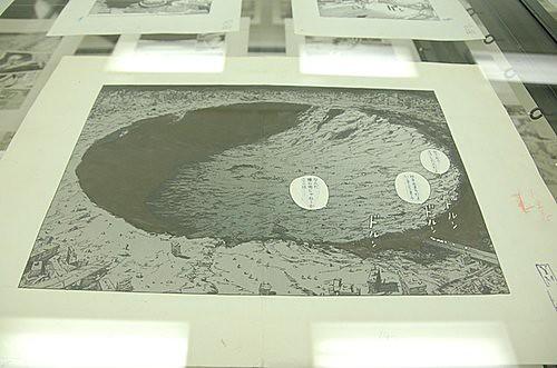 大友克洋GENGA展覽內部照片