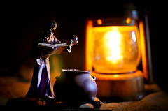 Young Potter! (Shutterfreak ) Tags: stilllife art lamp book miniature nikon harry potter spell souvenir figure concept cauldron bangladesh d5000 nikkor35mmf18g inkiad