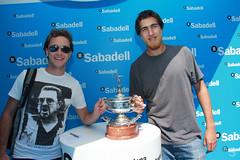 Tenis desde el Barcelona Open Banc Sabadell (BancoSabadell) Tags: barcelona banco atp tennis tenis banc sabadell godo bcnopenbsphotocall godobcnopenbs bcnopenbs2012