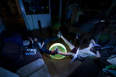 Pyramid Dome (G52cube) Tags: light beautiful painting lights living jones amazing nikon funny long exposure legs bright room over creative nelson brooke led dome nate half split exposed distraction garza severiano d7000