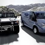 Hummer H1 vs. Ford Transit SSV thumbnail