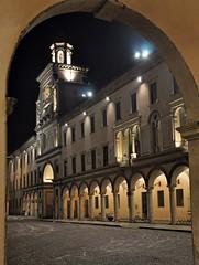 Il Torrazzo (LucaBertolotti) Tags: city winter italy night square italia piazza inverno crema notte citt cremona