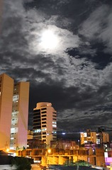 Dark Side Of The Moon (Clanaty) Tags: city moon night lights luces noche colombia ciudad luna bucaramanga supermoon superluna
