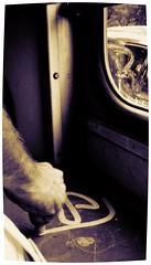 """Bus'Buda'Bask"" (""skeba"") Tags: road trip bus monochrome photo action tag main budapest nb chrome shit marker 2009 oneletter bras mierda crome squeezer handstyle geut poilu krink geuta biril"