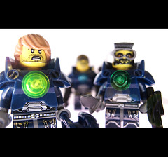 Space Marines... (felt_tip_felon) Tags: lego space spacemarines minifigs unit squadtroops
