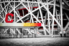 Nest Watchers (WhiteKroko) Tags: china trip travel vacation blackandwhite bw holiday travelling nid tourism monochrome birds architecture fun asia nest noiretblanc stadium beijing monotone tourist nb national traveling visiting bnw chine selectivecolor photooftheday flickrpassport mytravel flickrgood flickrtravel flickrbw bwcrew monoart stadiumbeijing flickrblackandwhite bwwednesday bwphotooftheday bwlover bwstylesgf igersbnw iroxbw bnwsociety bwsociety tflers bwstyleoftheday igtravel monochromaticnoir fineartphotobw flickrtraveling flickrgo flickrpickbw