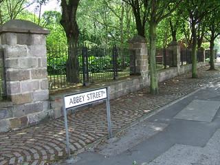 Abbey Street in Lenton - May 2011