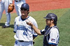 DSC01381 (shi.k) Tags: 横浜スタジアム 横浜ベイスターズ 120511 イースタンリーグ 高森勇気 松下一郎