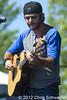 Thomas Rhett @ WYCD Downtown Hoedown 2012, Comerica Park, Detroit, MI - 06-10-12