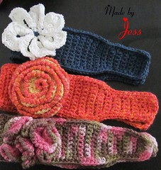 "Crochet Headbands • <a style=""font-size:0.8em;"" href=""http://www.flickr.com/photos/66263733@N06/7188401401/"" target=""_blank"">View on Flickr</a>"