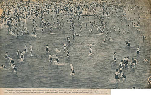 Scheveningen,hittegolf, juni 1941