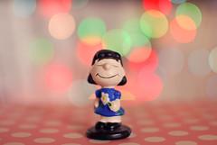 Lucy van Pelt  (Natlia Viana) Tags: cute miniature sweet bokeh peanuts snoopy charliebrown charlesschulz lovely miniatura lucyvanpelt natliaviana sisterlinus
