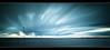 The Approaching Storm (A-D-Jones) Tags: ocean blue sea sun seascape glass set clouds landscape movement long exposure welding crosby blundellsands