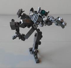 Martial Frame (SageThe13th) Tags: mobile lego frame zero mecha