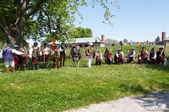 IMG_0208 (Naturally in Niagara) Tags: old war fort battle soldiers british erie reenactment bicentennial culloden 1812