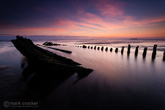 SS Nornen (images through a lens) Tags: uk sunset beach boat europe unitedkingdom britain somerset severn coastal shipwreck wreck brean berrow ssnornen
