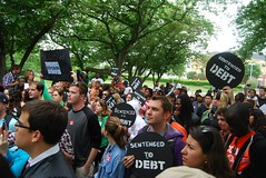"May 24: Students Stand up to Sallie Mae! • <a style=""font-size:0.8em;"" href=""http://www.flickr.com/photos/76961723@N08/7309388786/"" target=""_blank"">View on Flickr</a>"