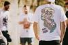 AnyForty — Australian Invasion — Deb (Rick Nunn) Tags: portrait sun london tattoo illustration eyes day dof snake australian rick naturallight flare deb nunn invasion brutal earing the canonef135mmf2l of tworld anyforty
