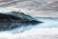 Wakatipu wonder (Luke Tscharke) Tags: newzealand mountain reflection sunrise landscape nz otago kinloch lakewakatipu 5d3 5dmarkiii