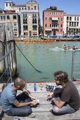 DC3213 DSC01771NX5N  Card Players - Venice  ©2012 (Paul Light) Tags: venice italy water race boats cards canal kayak competition rowing gondola paddling grandcanal playingcards rowingshell vogalonga2012 30kmpaddlingrowingrace 38thvogalonga