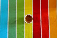 Pausa caff! (Jack's Foto) Tags: verde coffee canon eos estate giallo rosso colori tovaglia caff bicchiere arancione celeste pausa 60d