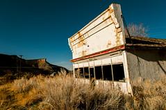 service station (Sam Scholes) Tags: abandoned overgrown digital utah nikon mine mining autorepair worn weathered coal ruraldecay servicestation hiawatha d300 carrepair kingcoal