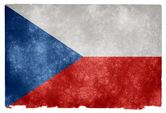 Czech Republic Grunge Flag