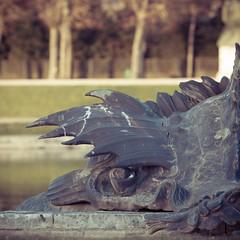 Bassin de Neptune  ⨳ 5 (square) (boris maillard) Tags: france statue canon outdoor adobe versailles chateau neptune parc bassin lightroom boma preset dfoto adobelightroom canonef135mmf2lusm 78000 canonef135mmf20lusm eos7d