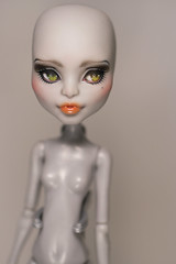 Werewolf Repaint (Amber-Honey) Tags: monster werewolf amber high mod doll cam honey create custom mattel repaint