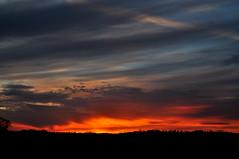 Cloudscape (Dave McGlinchey) Tags: sunset sky sun water clouds nikon skies cloudy atmospheric vapour cloudscapes optic d5000 cloudsstormssunsetssunrises