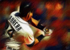 Miguel Cabrera - Detroit Tigers (Bob Smerecki) Tags: auto portrait color art colors miguel pen pencil ink photoshop painting star sketch artwork all dynamic bright baseball 21 drawing 5 strokes gothic fine detroit illustrations brush canvas virtual pastels painter winner tigers crown editor watercolors cabrera triple oils rendering mvp mlb gmx smartphoto photopainter smackman snapnpiks