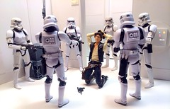 Han's Predicament. If there's one thing Solo hates it's being used as bait. (chevy2who) Tags: two black toy rebel star three starwars action wave mount solo figure carmel dio stormtrooper series wars capture han diorama hasbro hansolo alliance liane starwarscustom starwarsdiorama starwarsblackseriesdiorama blackseriesdiorama starwarsblackseriescustom customdioramastarwars