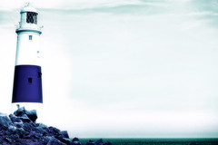 DSC00301-Portland-Bill-Lighthouse-Infrared (Lex Photographic) Tags: lighthouse digitalart portlandbill dorsetpictures