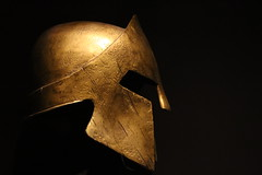 This is Sparta ! (franck.robinet) Tags: old light art canon movie war antique helmet greece 300 1855 spartan casque leonidas spartiate