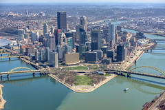 An aerial view of Pittsburgh in the spring (Dave DiCello) Tags: pittsburgh aerials pittsburghskyline downtownpittsburgh davedicello imagesofpittsburgh viewsofpittsburgh pittsburghprints pittsburghskylineimages aerialpittsburgh pittsburghfromtheair aerialviewsofpittsburgh