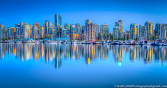 Vancouver, Canada (westrock-bob) Tags: ocean park longexposure summer copyright canada water skyline night vancouver canon eos lights bc britishcolumbia burrardinlet stanleypark coalharbour coalharbor 6d nightlongexposure canon6d canoneos6d bobcuthillphotographygmailcom bobcuthill
