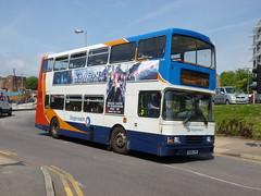 N386LPN (SRDemus) Tags: bus hastings stagecoach 16386 volvoolympian hastingsstation n386lpn
