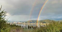 Doble arcoiris sobre el ro Bo Bo (rsaezn) Tags: arcoiris rainbow concepcin arcoirisdoble doublerainbow robobo biobioriver idahue concepcinchile idahuesanpedrodelapaz arcoirissobreelbobo concepcinbobo