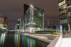 Carmine Building, Paddington Basin (HotSnapshot) Tags: longexposure reflection building london glass westminster architecture night canon buildings reflections outdoors canal nightimages waterfront nightscape outdoor canals nighttime nightlight slowshutter infrastructure 5d paddington canon5d nightlife barge modernarchitecture longshutter waterway westlondon waterways shutterspeed slowshutterspeed barges glassbuilding longexposures londonist paddingtonbasin 2470mm londontown londonatnight londonbuildings londonarchitecture londonbylondoners carminebuilding canon5dmarkiii 5d3 reflectionlovers nighttimeinlondon canon5dmark3 triggertrap 2470mmf28ii canon2470mmf28iil