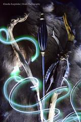 The Force Is Strong with These Staffs (Hrafn Photography) Tags: lightpainting viking historicalreenactment vala wikinger starwarsday maytheforcebewithyou vikingar viikingit vikingage vikingtiden sejd vikingatiden wikingerzeit vkingr vikingene vlva nikond7100 vkingald viikinkiaika vikingagescandinavia seikona seir staffofsorcery vlva fraumitstab wandcarrier