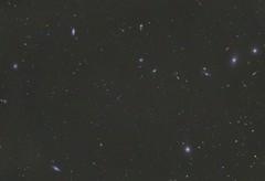 Messier 84,86,87,88,90,91 Virgo Cluster (DeepSkyDave) Tags: sky night canon eos mod nacht cluster himmel astrophotography messier 88 90 86 virgo 91 87 84 6d deepsky astrofotografie astrodon