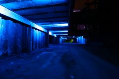 Blue hour (Mettwoosch) Tags: longexposure trip travel blue industry architecture night canon germany lens deutschland eos lights nacht outdoor architektur blau landschaftspark duisburg industrie ruhrgebiet ef pott lichter langzeitbelichtung 5dm3