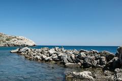 Coastline (marielledevalk) Tags: ocean sea holiday water landscape coast outdoor greece coastline rhodos