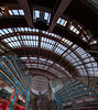 James R. Thompson Center (Jovan Jimenez) Tags: james r thompson center spider web samsung s6 galaxy hdr pano panorama panoramic camera cell phone mobile chicago il 100wrandolphst train station red blue window sky lights fv5 fish eye wide angle android veganphotographer cta adobe creative cloud interior design indoor indoors smg920t glass ceiling