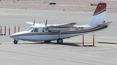 Aero Commander 500S N17DL (ChrisK48) Tags: 1969 airplane aircraft 500 dvt phoenixaz airattack kdvt phoenixdeervalleyairport aerocommander500s n17dl