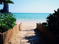 #beach #sea #sand #blue #summer (kannika185) Tags: blue sea summer beach sand