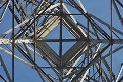 Steel boxes (Kiwi Jono) Tags: blue pentax steel perspective pylon boxes samyang85f14 pentaxk5